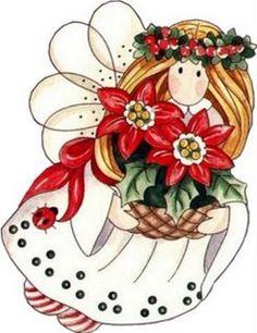 angeles de navidad para imprimir - Imagenes y dibujos para imprimirTodo en imagenes y dibujos