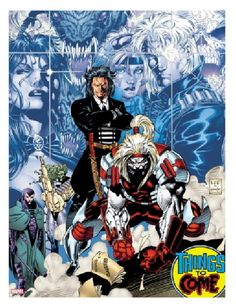 Jim Lee X-men-no-1-20th-Anniversary-Edition-Marvel-Comics, ft Omega Red, designed/created by Lee for the book!