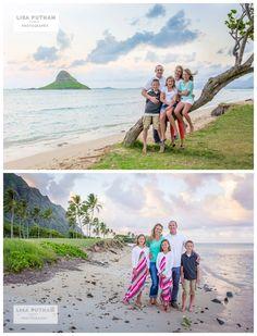 Kualoa Beach Park - Lisa Putnam Photography