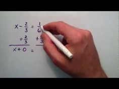 How to Solve First Degree Equations , Intermediate Algebra , Lesson 32