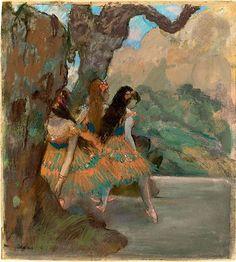 Edgar Degas Ballet Dancers, ca. 1877