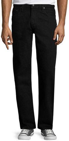 ARIZONA Arizona Loose Fit Jeans Loose Jeans, Jean Top, Cotton Fabric, Black Jeans, Fitness, Arizona, Pants, Men, Color