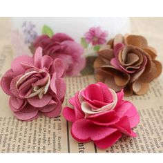 Aliexpress.com : Buy 50pcs/lot DIY materials handmade flower head hair Artificial Suede accessory corsage shoe wedding part free shipping 7 colors from Reliable silk orchid suppliers on Lore 's Decoration Flowers Store. $27.99