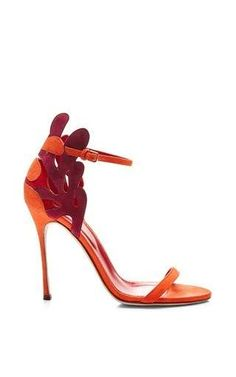 Matisse suede sandal by SERGIO ROSSI Available Now on Moda Operandi