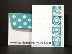 Mosaic Madness...so simple and elegant! Stampin' Up!