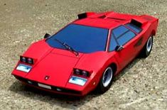 countach LP400 ISO view