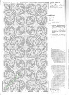 Мобильный LiveInternet Muestras y Motivos ganchillo №107 салфетки, скатерти, занавески, покрывала. | wita121 - wita121 |