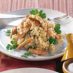 Couscous mit Hähnchenbrust