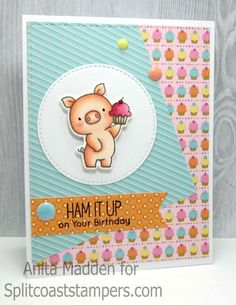 CT0616 - Ham It Up by Zacksmeema - Cards and Paper Crafts at Splitcoaststampers