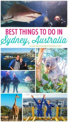 Best Things to Do In Sydney, Australia : Best Things To Do in Sydney! Thinking about planning a trip down under? Here are the best things to do in Sydney, Australia. Sydney Australia Travel, Visit Australia, Australia Trip, Victoria Australia, Honeymoon In Australia, Bondi Australia, Melbourne Australia, Places To Travel, Travel Destinations