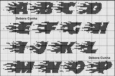 Ângela Bordados: Este monograma fica lindo...