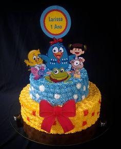 Já amo fazer bolo, pra minha princesinha então , Com o tema que ela ama Galinha Pintadinha..rs Parabéns meu amor que Papai do céu continue te abençoando  #Larissafaz1 #tiaamademais #bologalinhapintadinha