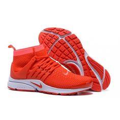 official photos b368f b8d5c Nike Air Presto Long orange
