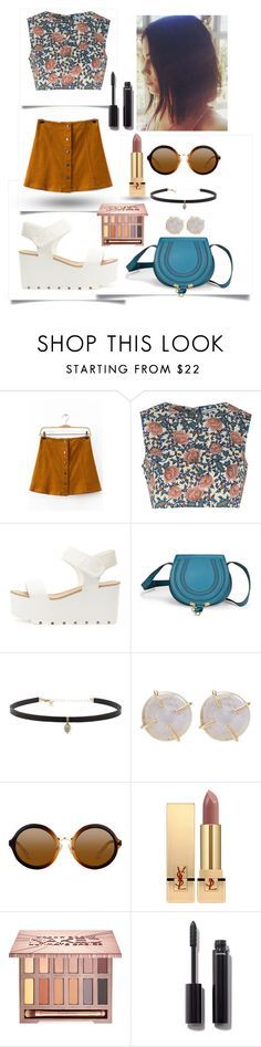 """""""p r i n t e d"""" by ammzi ❤ liked on Polyvore featuring Glamorous, Chloé, Carbon & Hyde, Melissa Joy Manning, Yves Saint Laurent, Urban Decay and Chanel"""