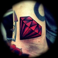 Discover royal inspiration with the top 50 best traditional diamond tattoo designs for men. Explore cool jewel ink ideas and radiant body art. Diamond Tattoo Men, Ruby Tattoo, Diamond Tattoo Designs, 4 Tattoo, Best Tattoo Designs, Piercing Tattoo, Piercings, Diamond Skull, Money Tattoo