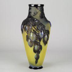 Art Nouveau Emile Gallé Cameo Plum Soufflé Vase 5628a.jpg