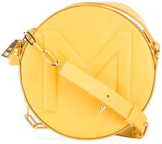 Mugler round cross-body bag