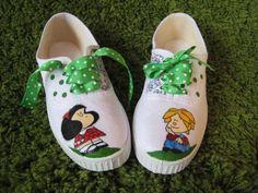 Zapatillas playeros de mafalda - artesanum com