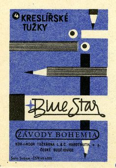 Czech #Matchbox Label  To order your business' own branded #matches GoTo: GetMatches.com