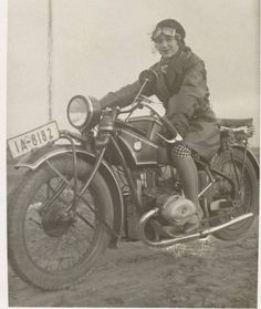 Tumblr is a place to express yourself, discover yourself, and bond over the stuff you love. It's where your interests connect you with your people. Hallway Pictures, Retro Motorcycle, Motorcycle Girls, The Secret History, Old Bikes, Red Army, Classic Bikes, Vintage Bikes, Girls Club
