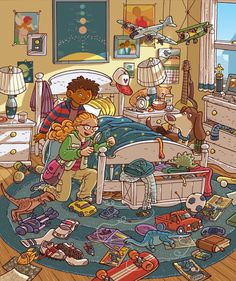 (2015-05) Hvad gør de på børneværelset?