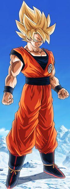 Goku Super Saiyan, Dragon Ball Z Due to the reputation of Saiyans in the galaxy, they never really had to push themselves through intense training to get better. Dragon Ball Gt, Super Saiyan Bardock, Geeks, Akira, Creation Bougie, Foto Do Goku, Manga Dragon, Fanart, Anime Merchandise