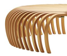 Nice Ribs Bench For Sidney Opera Hall By DesignByThem (AUS) Amazing Ideas