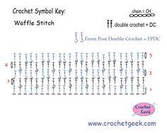 http://www.crochetgeek.com/2014/05/crochet-waffle-stitch-crochet-pattern.html