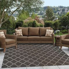 Indoor/outdoor rug option
