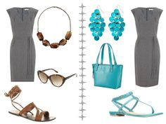 Grey, sleeveless
