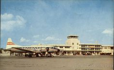 Orlando Municipal Airport in the 1950s and before McCoy...