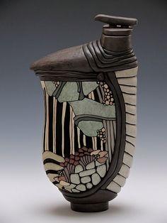 Hand Built Pottery, Vase, Ceramics, Home Decor, Ceramica, Handmade Ceramic, Pottery, Decoration Home, Room Decor
