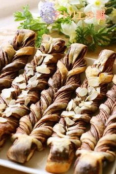 大人味✿チョコレート&ココア✿ねじりパン by アトリエ沙羅 [クックパッド] 簡単おいしいみんなのレシピが225万品
