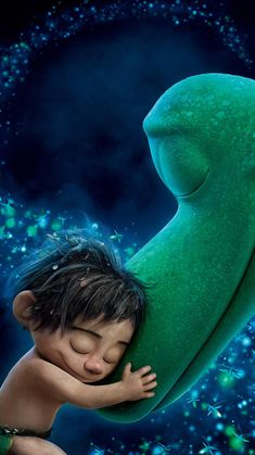 The Good Dinosaur Loved this movie so much And just like every Pixar film I cried Disney Pixar Movies, Disney Art, Disney Characters, Arlo Und Spot, Wallpaper Bonitos, Dinosaur Wallpaper, Disney Phone Wallpaper, The Good Dinosaur, Cute Cartoon Wallpapers