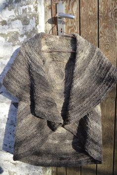 vild med uld: Cirkelvest i uld
