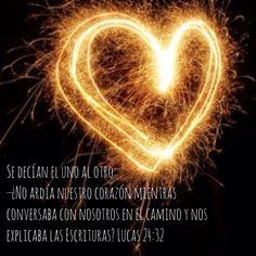 ¡Es una pasión! Lucas 24:32 ¡Te amo con mi ser! Arde mi corazón! #HeartBurning Camina conmigo, porque eres mi vida! Lucas 24, Love, Movie Posters, Te Amo, Life, Amor, Film Poster, Billboard, Film Posters
