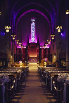 First Congregational Church in LA. Home of the world's largest church organ. Stunning venue for a wedding.
