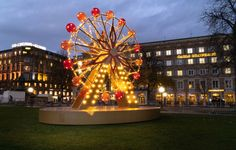 Spring is in the air. It's time to create an experience… Lighting Concepts, City Lights, Ferris Wheel, Festive, Cities, Easter, Create, Spring, Lights