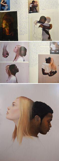 An awesome AS Art portfolio!