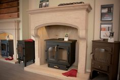 Clearview 650 stove, The Saxton scabbled gritstone fireplace.jpg