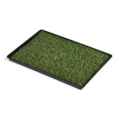 Portable Dog Potty Easy Clean Lead Free Synthetic Turf Pan System Protects Floor