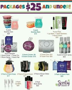 Secret Santa? Perfect gifts! Www.lacostacarrell.scentsy.us