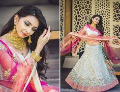 The Summer Bride  Rishika Jani, in a pastel Shyamal & Bhumika lehenga and Azva jewellery, blogs about her makeover experience at Grand WeddingSutra on Location.  http://weddingsutra.com/blog/index.php/2015/05/14/with-grand-weddingsutra-on-location-rishika-jani/