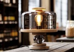 The Bake Me a Cake Lamp by Morten & Jonas is Made by Prisoners