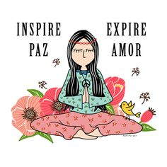 Reconecte-se com sua paz interior 🌺🌸 Reconnect with your inner peace. Yoga Quotes, Words Quotes, Karma, Breathing Meditation, Yoga Pictures, Yoga Pics, Yoga For Kids, Some Words, Inner Peace