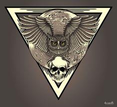 Owl vector by ~denisosulli on deviantART