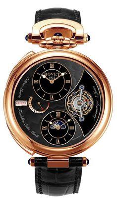 "Bovet Fleurier Complications Tourbillon With Double Time Zone ""Orbis Mundi"" - Bovet24"