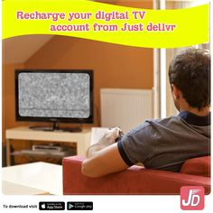 Don't worry about missing out on your daily dose of entertainment anymore, as now you can easily recharge your digital TV account from ‪#‎JustDelivr‬.