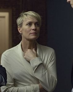 Outfit worn by Claire Underwood in House of Cards. Shop the Screen with Spylight!