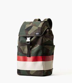 M90 Camo Canvas Backpack - JackSpade